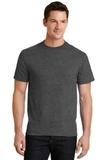50/50 Cotton / Poly T-shirt Dark Heather Grey Thumbnail