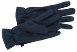 Fleece Gloves Navy Thumbnail