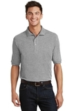 Pique Knit Polo Shirt With Pocket Oxford Thumbnail