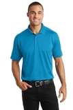 Diamond Jacquard Polo Blue Wake Thumbnail