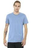 BELLACANVAS Unisex Jersey Short Sleeve Tee Baby Blue Thumbnail