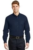 Long Sleeve Superpro Twill Shirt Navy Thumbnail