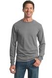 Moisture Management 50/50 Cotton / Poly Long Sleeve T-shirt Oxford Thumbnail