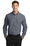 Tall SuperPro Oxford Shirt Black Thumbnail
