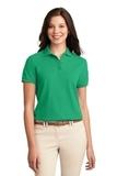 Women's Silk Touch Polo Shirt Court Green Thumbnail