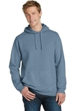 Beach Wash Garment-Dyed Pullover Hooded Sweatshirt Denim Blue Thumbnail