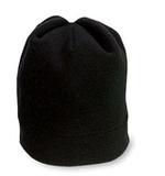 Stretch Fleece Beanie Black Thumbnail