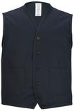 Two Pocket Apron Vest Navy Thumbnail