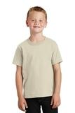 Youth 5.5-oz 100 Cotton T-shirt Natural Thumbnail