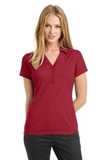 Women's OGIO Framework Polo Signal Red Thumbnail