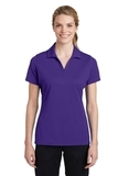 Women's Sport-Tek PosiCharge RacerMesh Polo Purple Thumbnail