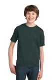 Youth Essential T-shirt Dark Green Thumbnail