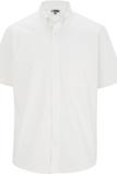 Men's Cotton Rich Short Sleeve Twill Shirt White Thumbnail