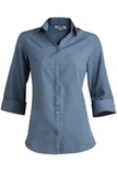 Women's Batiste 3/4 Sleeve Riviera Blue Thumbnail