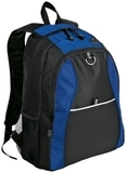 Improved Contrast Honeycomb Backpack Twilight Blue with Black Thumbnail