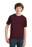 Youth Essential T-shirt Athletic Maroon Thumbnail