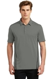Sport-Tek Contrast PosiCharge Tough Polo Dark Smoke Grey with Black Thumbnail