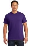 Ultra Blend 50/50 Cotton / Poly T-shirt Purple Thumbnail