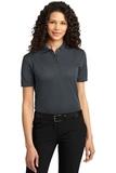 Women's Dry Zone Ottoman Polo Shirt Iron Grey Thumbnail