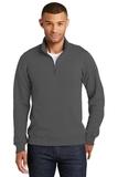 Fan Favorite Fleece 1/4 Zip Pullover Sweatshirt Charcoal Thumbnail