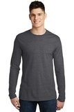 Men's Very Important Tee Long Sleeve Heathered Charcoal Thumbnail