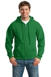 Full-zip Hooded Sweatshirt Irish Green Thumbnail