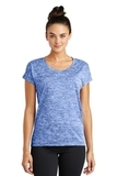 Women's Electric Heather Sporty Tee True Royal Electric Thumbnail