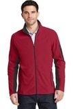 Summit Fleece Full-Zip Jacket Rich Red with Black Thumbnail