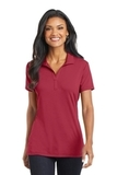 Women's Cotton Touch Performance Polo Chili Red Thumbnail