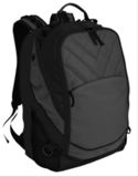 Xcape Computer Backpack Dark Charcoal with Black Thumbnail