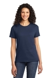 Women's Essential T-shirt Navy Thumbnail