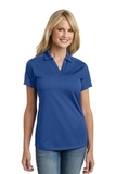 Women's Diamond Jacquard Polo True Blue Thumbnail
