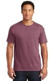 50/50 Cotton / Poly T-shirt Vintage Heather Maroon Thumbnail