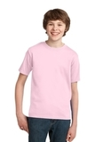 Youth Essential T-shirt Pale Pink Thumbnail