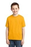 Youth 50/50 Cotton / Poly T-shirt Gold Thumbnail
