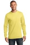 Essential Long Sleeve T-shirt Yellow Thumbnail