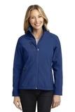 Women's Welded Soft Shell Jacket Estate Blue Thumbnail