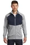 The North Face Tech Full-Zip Fleece Jacket TNF Mid Grey with Urban Navy Thumbnail