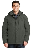 Herringbone 3-in-1 Parka Spruce Green Thumbnail