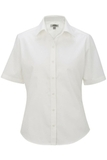 Women's Short Sleeve Service Shirt White Thumbnail