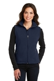 Women's Value Fleece Vest True Navy Thumbnail