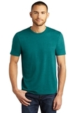 District Made Perfect Tri Crew Tee Heathered Teal Thumbnail