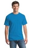 Heavy Cotton 100 Cotton T-shirt Heather Sapphire Thumbnail