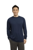 Long Sleeve Ultimate Performance Crew True Navy Thumbnail