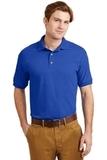 Ultra Blend 5.6-ounce Jersey Knit Sport Shirt Royal Thumbnail