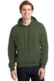 Heavyblend Hooded Sweatshirt Military Green Thumbnail