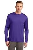 Competitor Long Sleeve Tee Purple Thumbnail