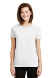 Women's Ultra Cotton 100 Cotton T-shirt White Thumbnail