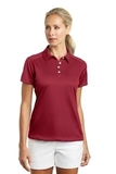 Women's Nike Golf Dri-FIT Pebble Texture Shirt Varsity Red Thumbnail
