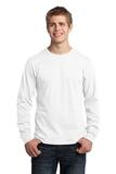 Long Sleeve 5.4-oz. 100 Cotton T-shirt White Thumbnail